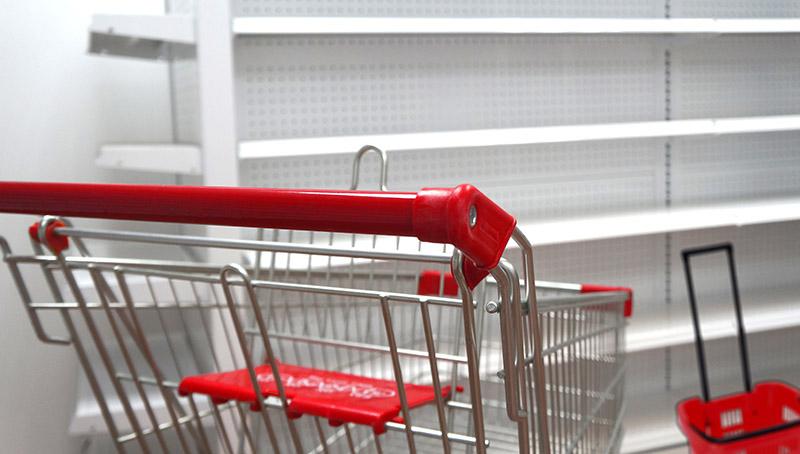 Coches y canastas de compras